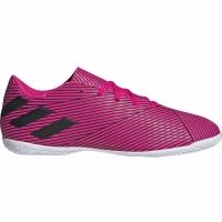 Ghete fotbal sala Adidas Nemeziz 194 IN roz F34527 pentru femei