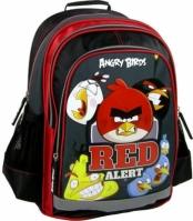 Ghiozdan Scoala Copii rosu Alert Angry Birds 39 Cm