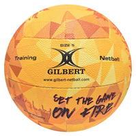 Gilbert Helen Housby Signature Fire Netball