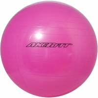 Minge fitness Axer Standard cu pompa 65cm roz A1752 femei sport Axer sport