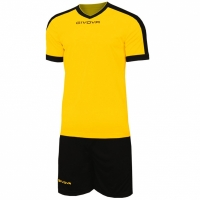 Mergi la Givova kit echipament fotbal complet Revolution galben-negru KITC59 0710