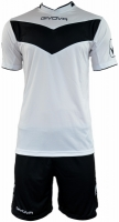 Echipament fotbal complet Givova Vittoria negru and alb