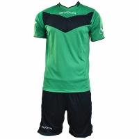 Echipament fotbal complet Givova Vittoria verde and negru