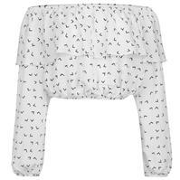 Bluza cu umerii goi Glamorous