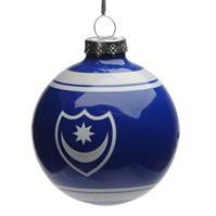 Team Glass Ornament