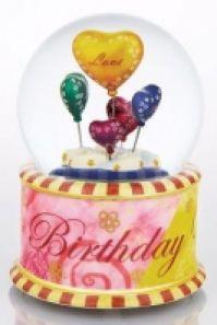 Glob Muzical Baloane pentru ziua de nastere