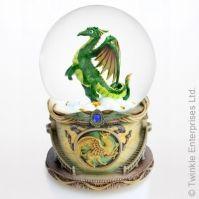 Glob Muzical Dragon Verde