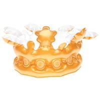 Golddigga Inflatable Gold Crown pentru Femei
