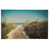 Graham and maro Beach Canvas Print