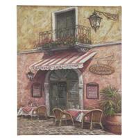 Graham and maro Café Canvas 40 x 50 cm