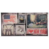 Graham and maro New York Canvas Picture