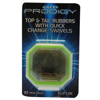 Greys Prodigy Top and Tail Rubbers cu Quick Change Swivels