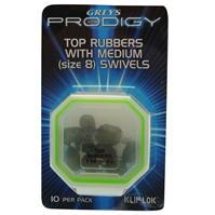 Greys Prodigy Top Rubbers cu Swivels