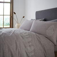 gri and Willow Frieda Embroidery Pillowcase Pair