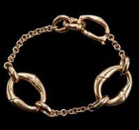 Gucci Jewels Mod Bamboo Braccialebracelet Oro Giallogold L 18 Cm