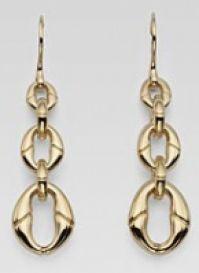 Gucci Jewels Mod Banboo Orecchiniearrings Oro Giallogold