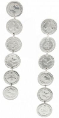 Gucci Jewels Mod Coin - Orecchiniearrings