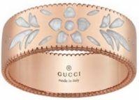 Gucci Jewels Modicon Blossom- Anelloring Oro Rosa Rose Gold Size 15