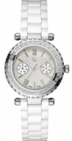 Guess Collection Mod Diver 36 Diamonds Mop Dial Swiss Made