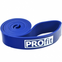 Banda elastica sport cauciuc PROFIT albastru 208x0,45x4,4 cm / SL2607