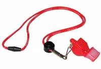 Fluier FOX 40 CMG SAFETY clasic rosu + snur / 9603-0108