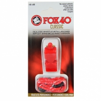 Fluier FOX 40 clasic SAFETY rosu + SZNACEK 9903-0108
