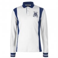 Tricouri Polo Hackett zapada Logo bumbac Blend cu maneca lunga