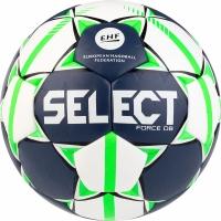 Handbal Select Force DB 2 EHF 2019 alb-bleumarin-verde 16154 pentru copii