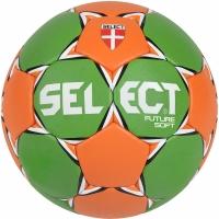 Handbal Select Future Soft 15 verde-portocaliu 16114 pentru copii