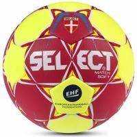Handbal Select Match Soft 2 EHF rosu galben 2017 12718 pentru copii