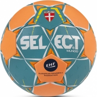 Handbal Select Mundo Senior 3 2017 verde-portocaliu
