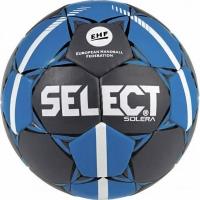 Handbal Select Solera Mini 0 2019 Official EHF gri-albastru