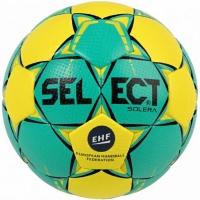 Handbal Select Solera Mini 0 EHF 2018 verde-galben 16155