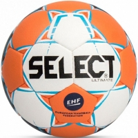 Handbal Select Ultimate 2 EHF 2018 alb-portocaliu-albastru 14291 pentru copii
