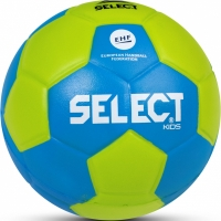 Handbal Select Foam IV roz.00 42cm lime-verde albastru 14147 pentru Copii