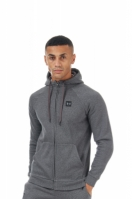 Hanorac barbati Rival Fleece FZ Hoodie Grey Under Armour