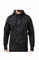 Hanorac barbati Zip Hoodie Night Camo Negru Game