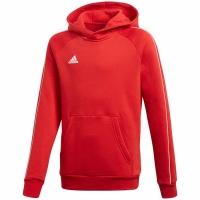 Hanoracadidas Core 18 rosu CV3431 copii adidas teamwear