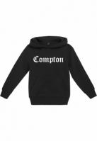 Hanorac Compton pentru Copii negru Mister Tee