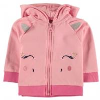 Hanorac Crafted Essentials Unicorn pentru fete pentru Bebelusi
