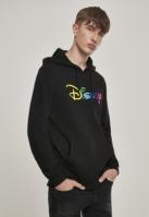 Hanorac Disney Rainbow Logo EMB negru Merchcode