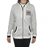Hanorac femei Zip Thru Hoody Grey Vision Street Wear