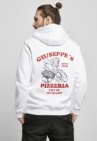 Hanorac Giuseppes Pizzeria alb Mister Tee
