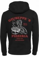 Hanorac Giuseppes Pizzeria negru Mister Tee