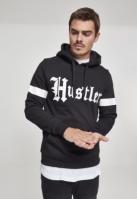 Hanorac Hustler cu dungi negru Merchcode