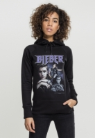 Hanorac Justin Bieber 90s pentru Femei negru Merchcode