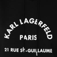 Hanorac Karl Lagerfeld Logo Address