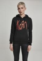 Hanorac Korn Logo pentru Femei negru Merchcode