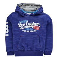 Hanorac Lee Cooper Tex AOP Over The Head pentru baietei