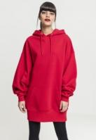 Hanorac lung oversized pentru Femei foc-rosu Urban Classics